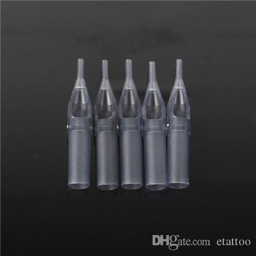 YILONG 3RT Disposable Grey Tattoo Nozzle Tips Plastic Tips For Tattoo Machine Supply
