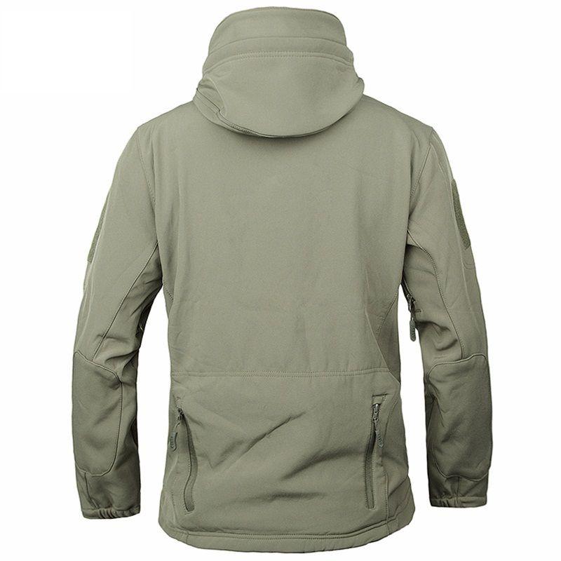 도매 무료 배송 육군 위장 코트 밀리터리 자켓 방수 윈드 레인 코트 의류 육군 자켓 남성 재킷과 코트