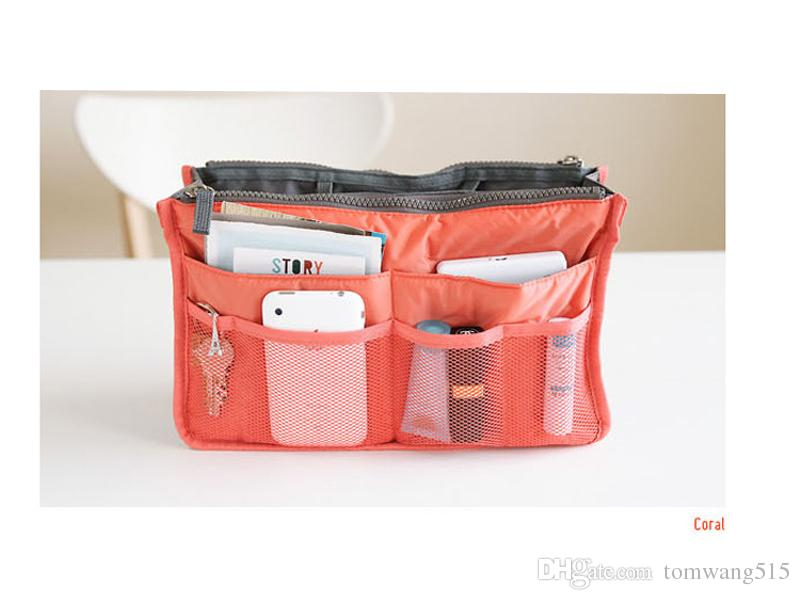 Kosmetiktaschen Etuis Make-up Veranstalter ba Casual Reisetasche multifunktionale Kosmetiktaschen Aufbewahrungstasche in Tasche Make-up-Handtasche