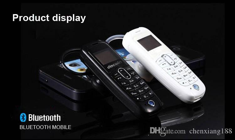 Nouvelle Arrivée A20 Sans Fil Mobile Téléphone Écouteur Mini Casque Dialer Bluetooth Casque Support Carte SIM Ultra Mini Mobile Noir Blanc Couleur