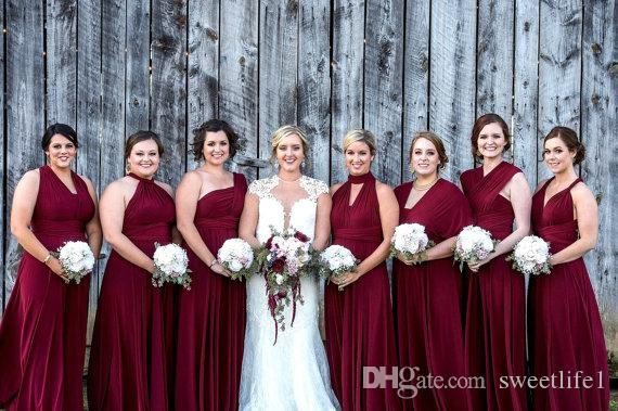 Infinity Bridesmaid Dress Styles