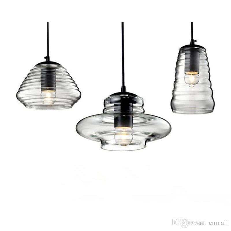 Tom Dixon Pressed Glass Pendant Lamp Light Bowl Lens Tube Abc Modern