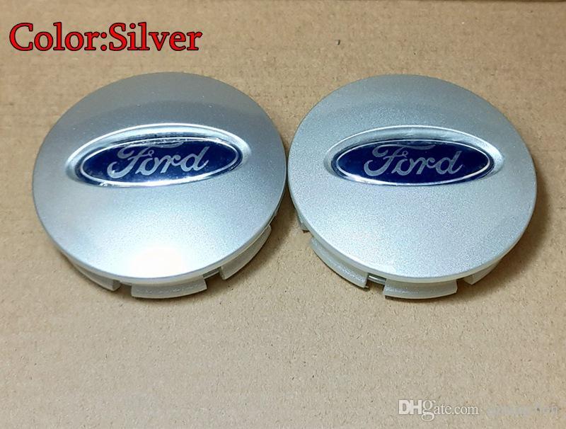 For Ford Edge Explorer Wheel Hub Center Cap Wheel Case Covers Emblem 66mm Electroplate/Silver/Black