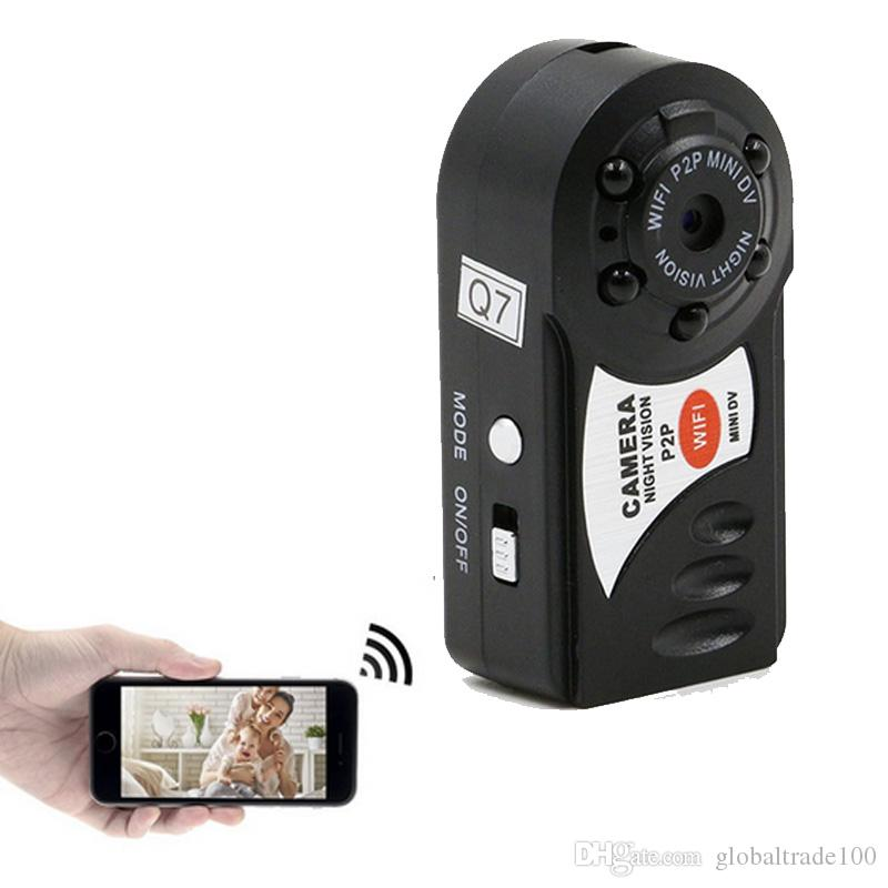 Q7 Mini Wifi DVR Wireless IP Camcorder Videorecorder Kamera Infrarot-Nachtsicht Action-Kamera Bewegungserkennung Eingebautes Mikrofon