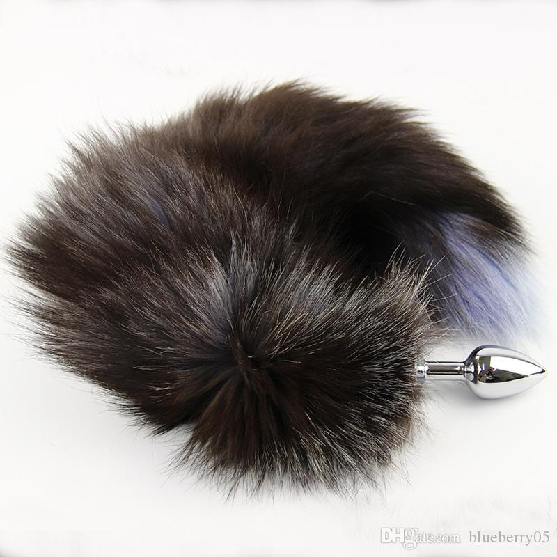 Hot Sale Metal Anal Toys Fox Tail Anal Plug Erotic Toys Butt Plug Sex Toys for Woman And Men Sexy Butt Plug