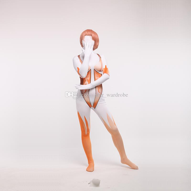 Attack on Titan Sexy Female Zentai Bodysuit Halloween Cosplay Zentai Catsuit Costumes