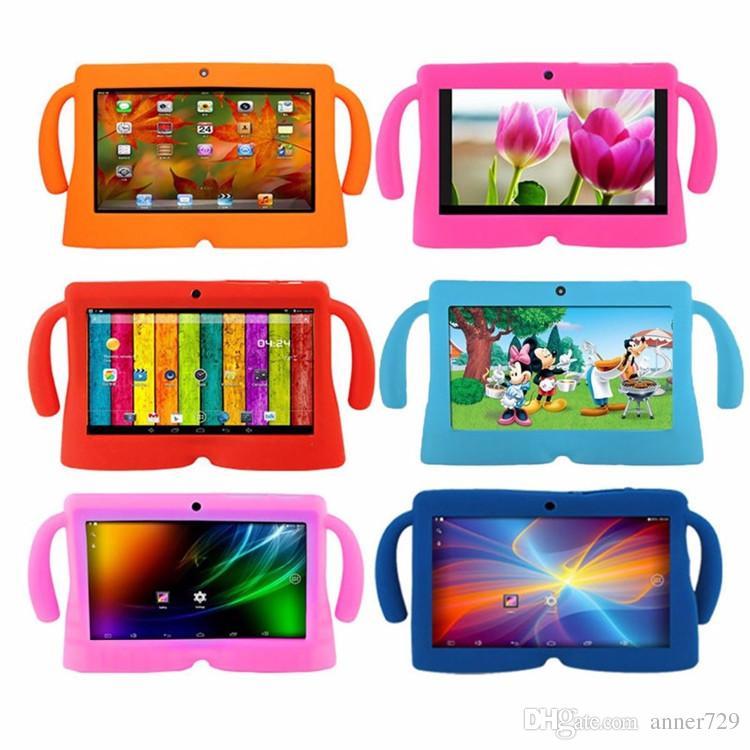 Custodia in silicone da 7 pollici tablet PC con custodia in gel di silicone bambini Q88 A13 A23 A33 Q8