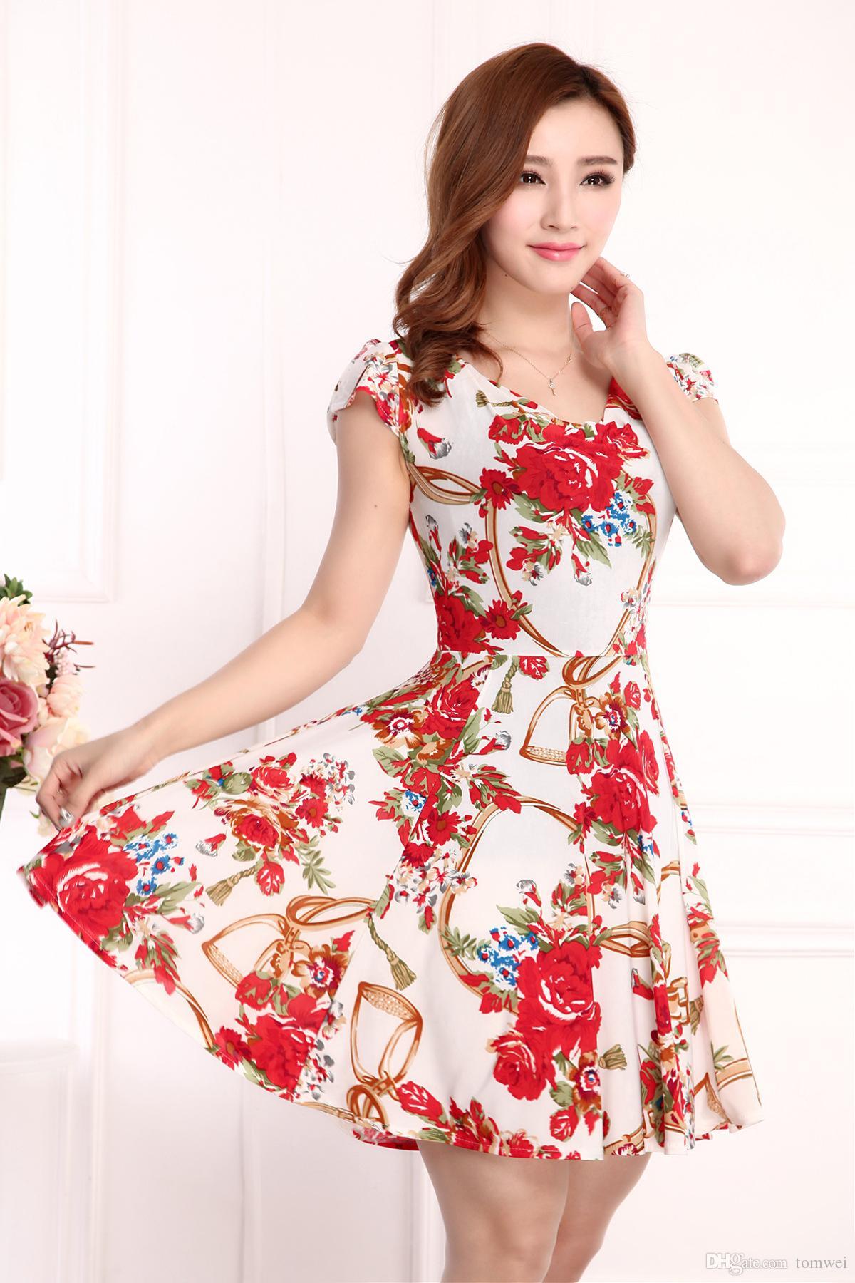 Imagenes de vestidos casuales para verano