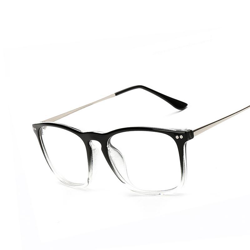 2018 Wholesale Fashion Women Rivet Clear Lens Eyeglasses Frames ...