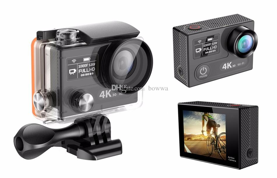 EKEN H8S Action Cameras With WiFi Real 4K Sport Camera 30FPS FHD Ambarella A12S75 Waterproof CAM Free DHL