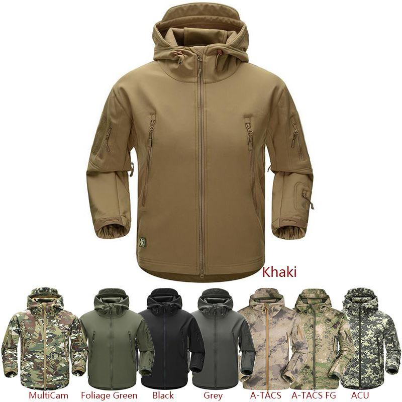 ESDY Outdoor Jacket Coat Water Resistant Luker TAD Shark Skin Soft Shell  Hoodie Military Airsoft Camping Hiking Clothing Tad Army 2017 UK 2019 From  Wanjia55 ... 307469b5bd