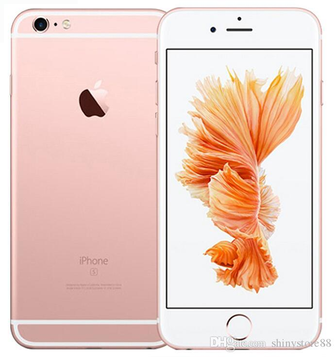 Refurbished Original Apple iPhone 6S Plus Unlocked Cell Phone 5.5 Inch 16GB/64GB/128GB Dual Core iOS 11 With Touch ID