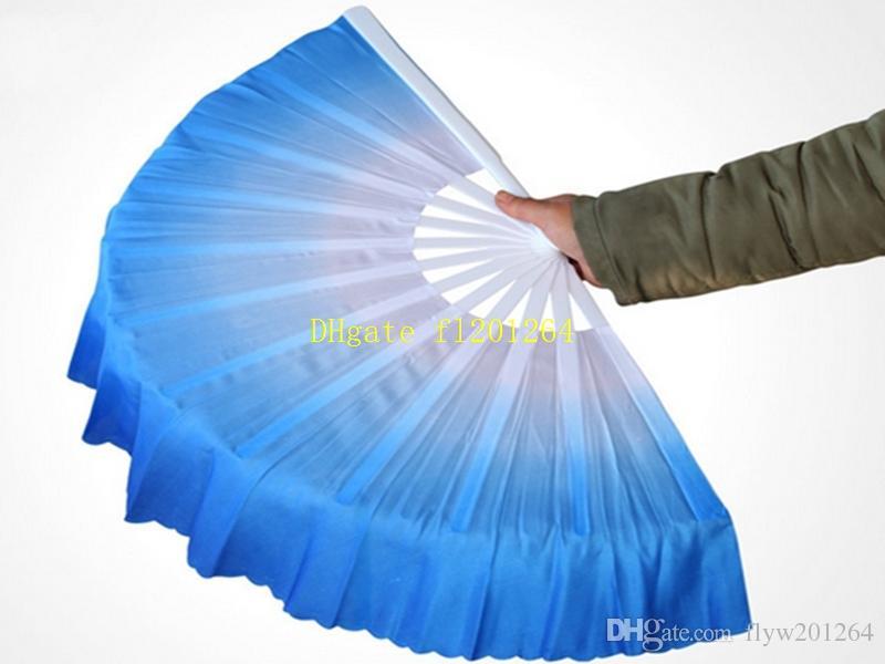 / Livraison Gratuite Nouvelle Arrivée Chinois danse ventilateur en soie voile 5 couleurs disponibles pour la fête de mariage cadeau de faveur