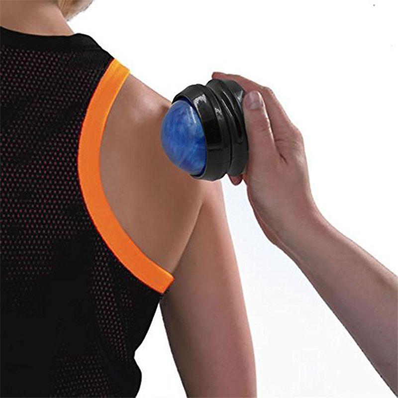 Back Roller Massager Massage Ball Effective Pain Relief Body Secrets Manual Health Care Massage Roller Relax Ball