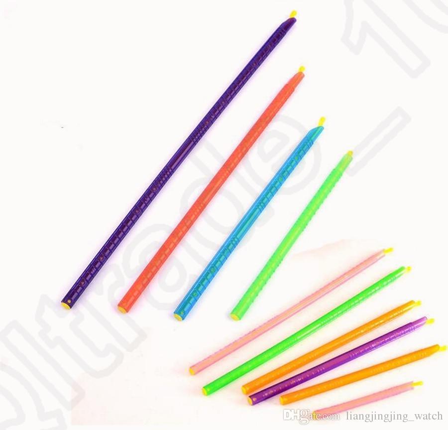Selo mágico Saco Aferidor Sticks Mantém Alimentos Fresh Plastic Bag Sealer Clips De Armazenamento De Alimentos 8 pçs / set OOA1160