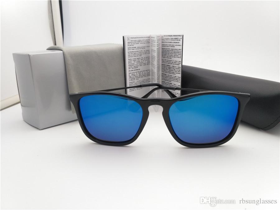 Compre Aaaaa + Moda Óculos De Sol Polarizados Para Homens Marca Feminina  Cremes De Sol De Gerador Óculos De Sol De Moda De Condução 54mm Quadro Preto  ... b940879122