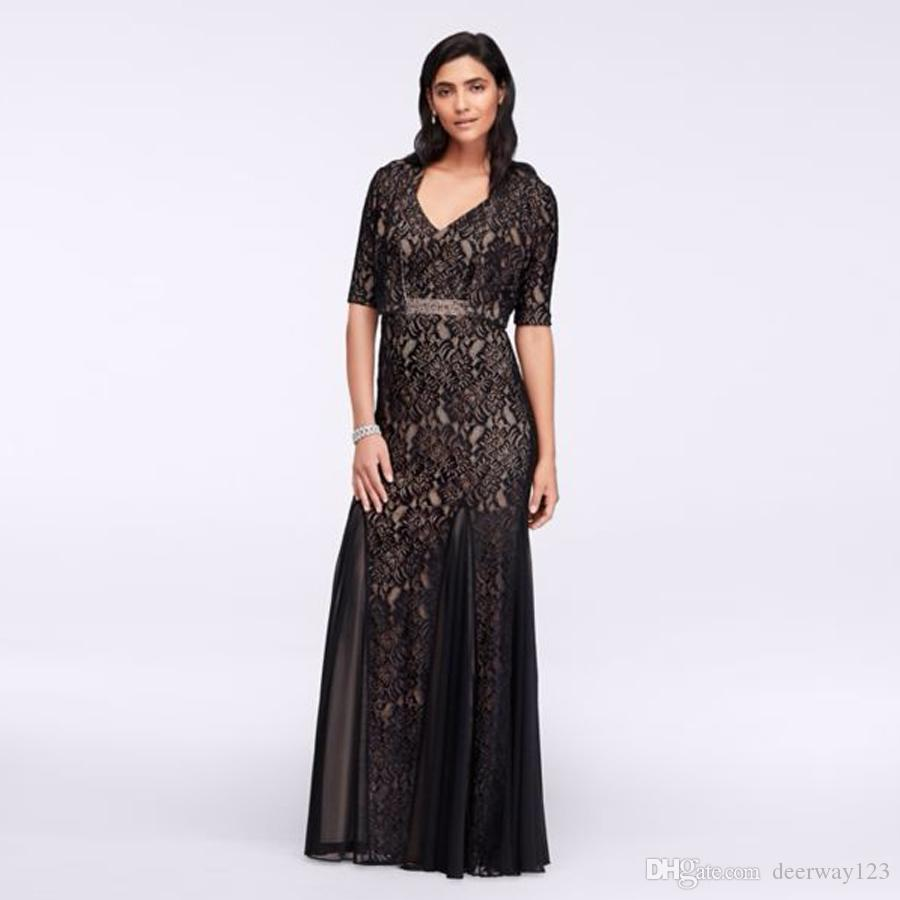Long Lace Dress With Bolero Jacket Beading Belt 1121734 Sexy Mother Of The  Bridal Dres Wedding Party Dress Formal Dresses Wedding Mother Of Bride  Dresses ... cf82d08eeef6