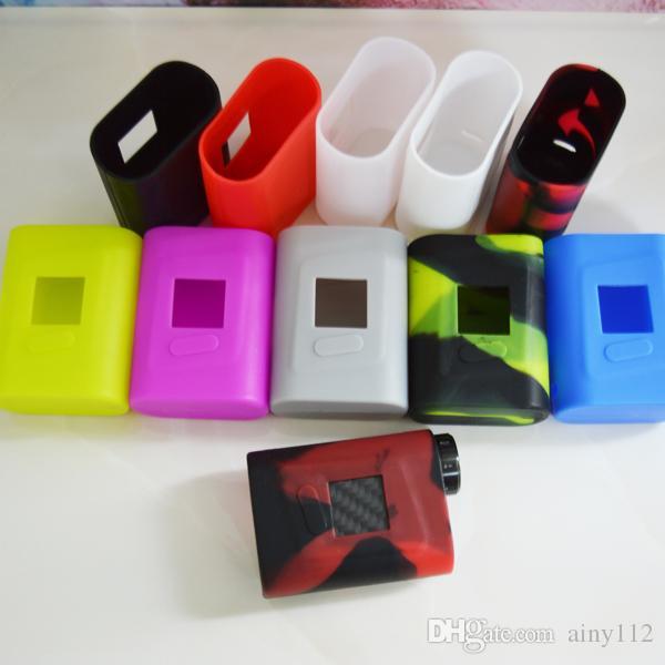Smok AL85 Silicone Case Colorful Rubber Protective SMOK AL85W Cover Skin For SmokTech SMOK Alien Mini 85W Box Mod case DHL free
