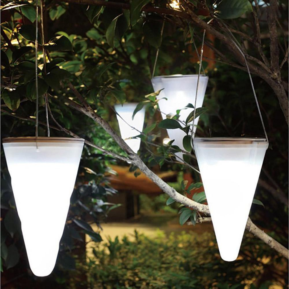 2018 wholesale solar led light garden decoration hanging light color 2018 wholesale solar led light garden decoration hanging light color changing taper balcony outdoor chandelier decorative for christmas from samanthe mozeypictures Choice Image