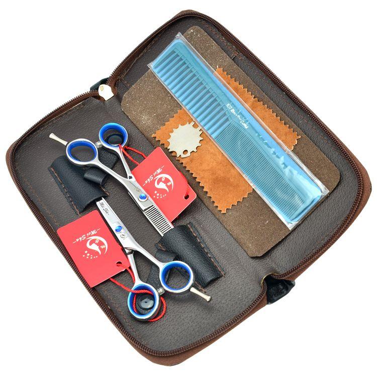 4.0Inch 5.0Inch 5.5Inch Meisha Hair Cutting Scissors Thinning Shears JP440C Hairdressing Sharp Scissors Salon Barbers Shears HA0146