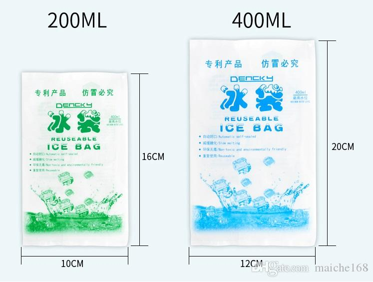 cheap Insulated in-customized reusable dry cold ice pack gel cooler bag for lunch box food cans wine medical