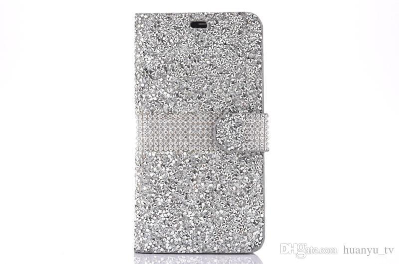 Fondina strass ZTE max pro 2 / LG Aristo 2 X210 / HTC desiderio 530 / Samsung galaxy S7edge Casi di alta qualità Vendita calda Prodotti