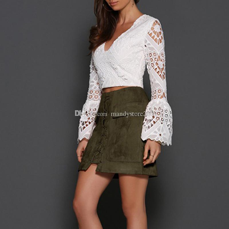 أزياء النساء الفتيات فو جلد الغزال الفراء بوديكون سليم البسيطة التنانير فوق الركبة فساتين عالية الخصر شحن مجاني
