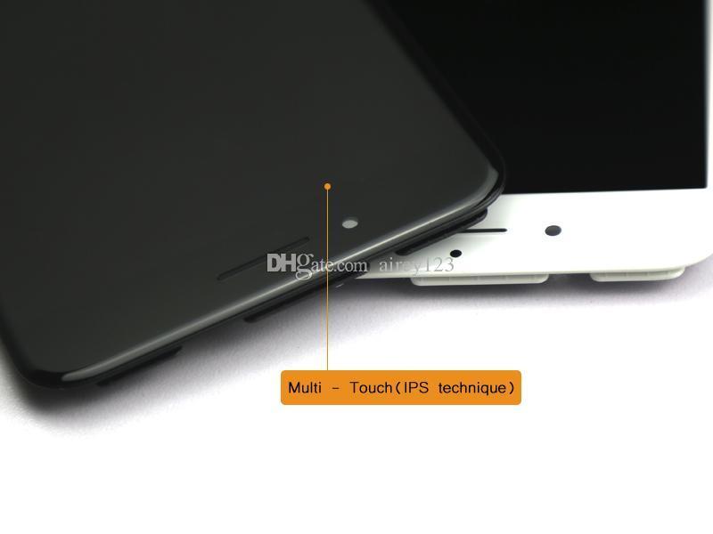 Qualité supérieure A +++ iPhone LCD Assemblée Panneau d'affichage Écran Tactile Digitizer Pièces de Rechange pour Apple iPhone 6 / 6S / 7 Plus