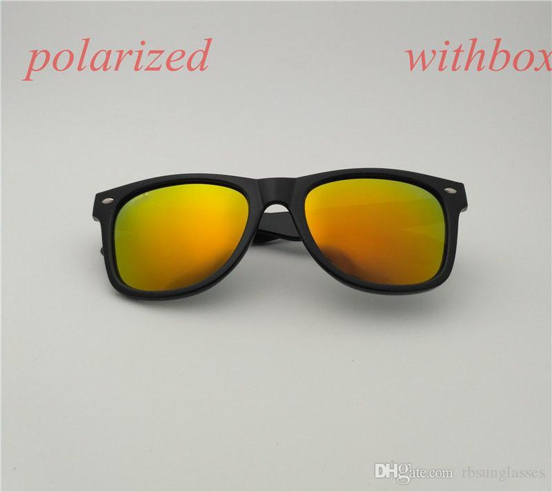 новое прибытие летняя мода солнцезащитные очки высокое качество планка солнцезащитные очки для мужчин женщин поляризованные солнцезащитные очки с коробкой