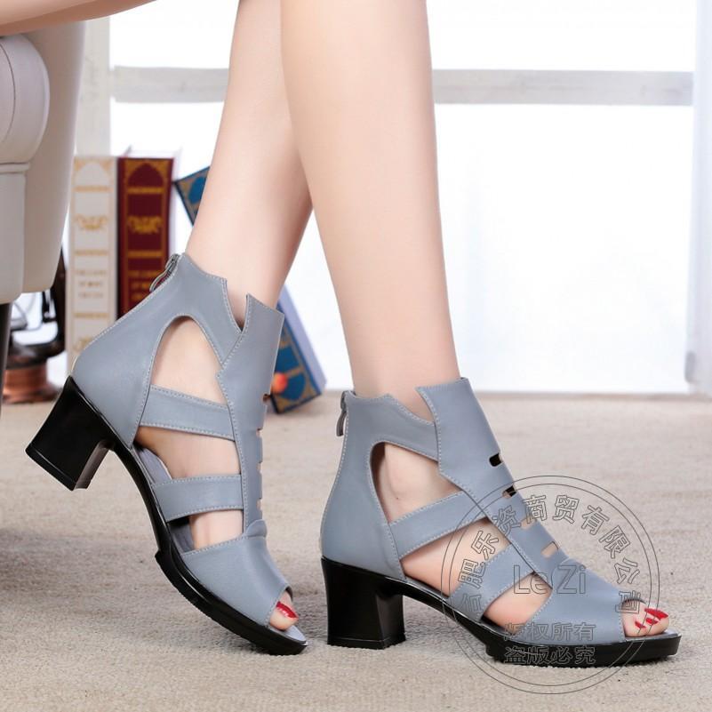 Scarpe Fibbia Medioevo Puro Donna Colore Spessi Tacchi Acquista dqzwS8Oz
