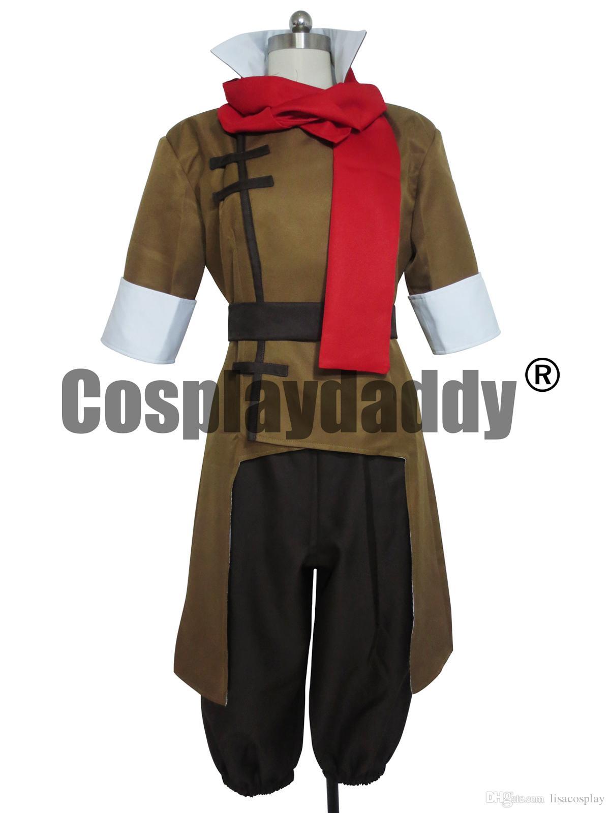 Avatar Korra Mako Cosplay Kostüm Custom Made Kıyafet