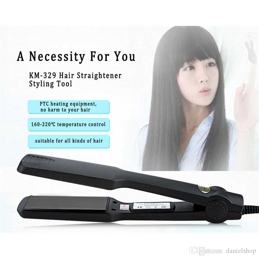 Fashion Women Professional Tourmaline Ceramic Heating Plate Hair Straightener Styling Tools With Fast Warm-up Thermal Performance
