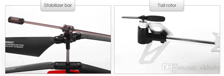 2.4G Rc Helicopter 3.5CH Remote Electric Control Helicopter Anti falling and anti wind helicopter model