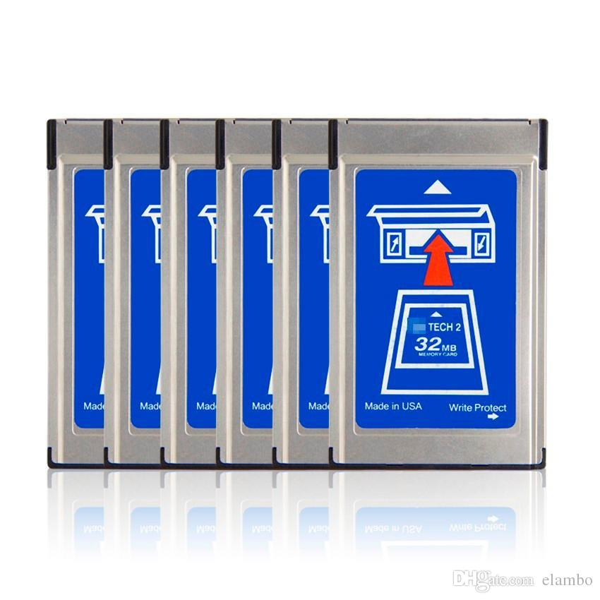 GM Tech2 32 MB Memory Card GM Tech 2 Card For GM/Holden/Isuzu/Opel/Saab/Suzuki tech2 32mb Memory card
