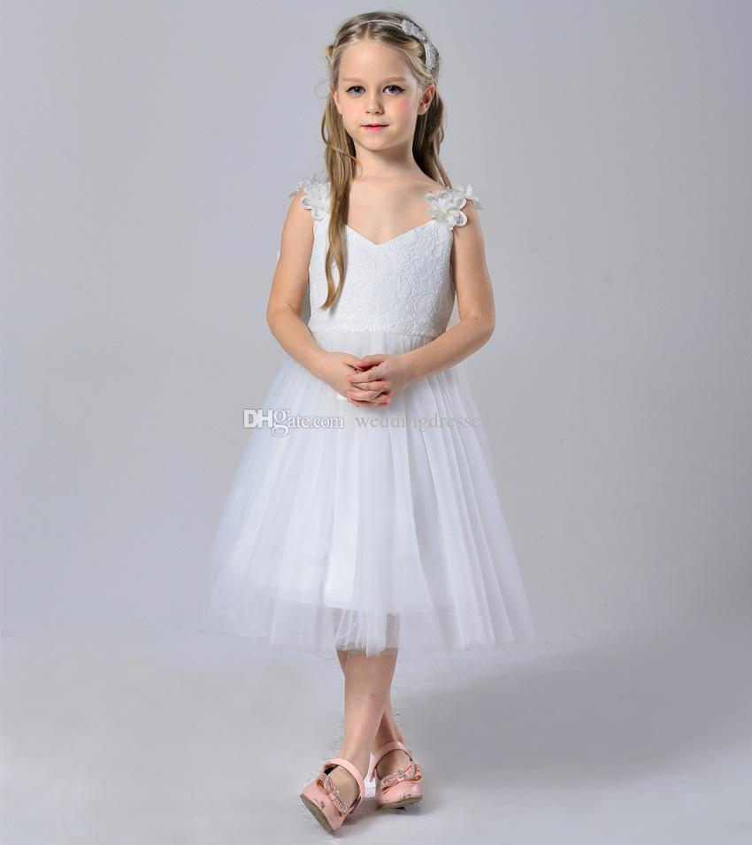 2017 summer sunshine girl new white dress suspenders children 2017 summer sunshine girl new white dress suspenders children wedding flower girl dress skirt show ballet for children flower girls girls bridesmaid dresses ombrellifo Image collections