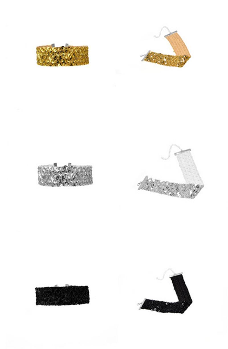 Yeni Moda Tabakalı Parlayan Altın püsküllük Choker İpek İplik Kravat Nedime Geniş yaka Kuyumcu Bayanlar Zincir Bib Kolye Düğün Party