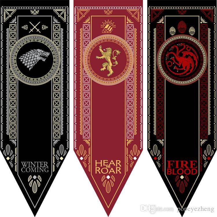 2019 Game Of Thrones Home Decor Flag House Targaryen Lannister