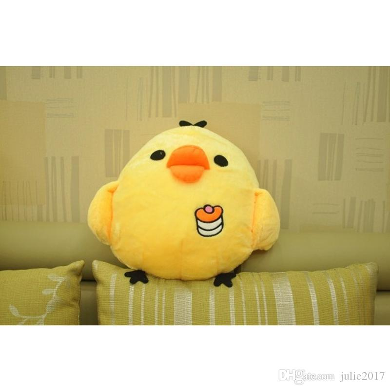 2017 New Years Lucky Animal Plush Animals Toys Chick Doll Children birthday gift for home decoration gift