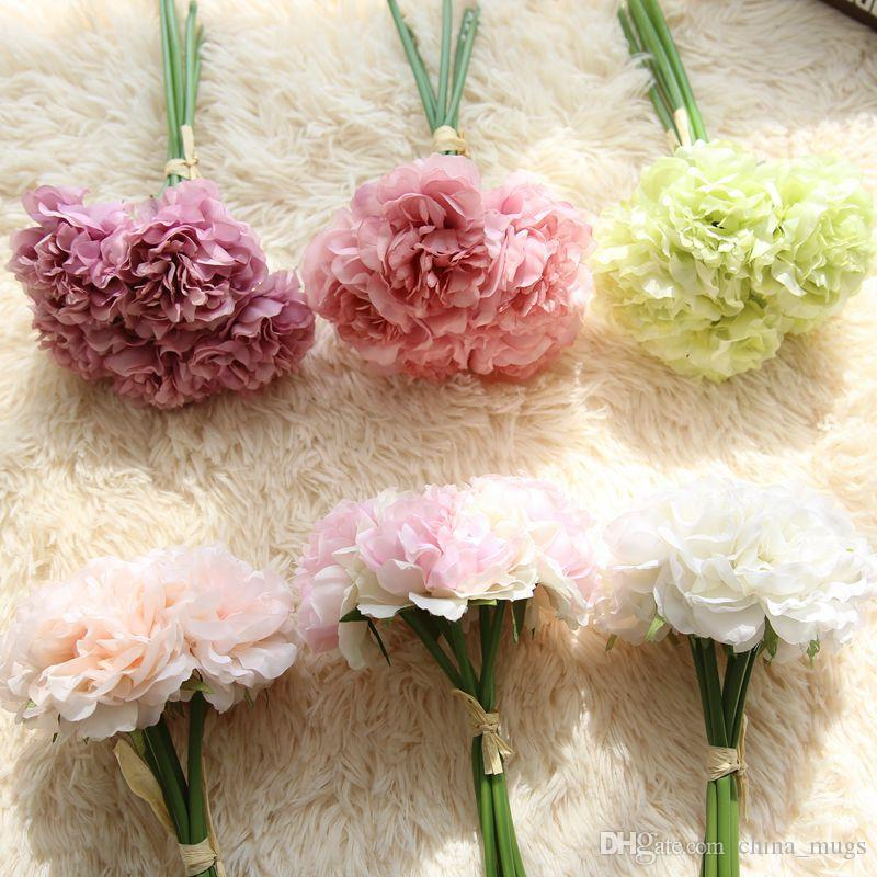 Wedding Decoration Artificial Flowers Peony Flower Party Decoration