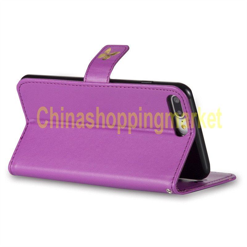 Бабочка бронзовый кожаный чехол для печати для LG C70 / H442 / H440 Q8 LS770 LS775 LG5X G3 G4 G5 G6 K5 K7 K8 K10 Pixel XL2