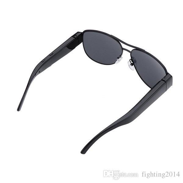 نظارات شمسية كاميرا Full HD 1080P نظارات نظارات DVR كاميرا ذات الثقب صوت مسجل فيديو كاميرا مصغرة الرياضة DV