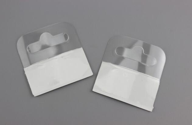 Supermercato merchandising gancio gancio aereo velivoli gancio autoadesivo in plastica PET appiccicoso gancio