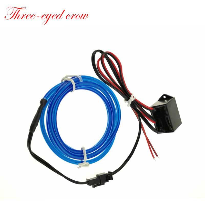 Wholesale 2017 12ft 4m Neon Led El Wire Lamp Glow String Lights Rope ...