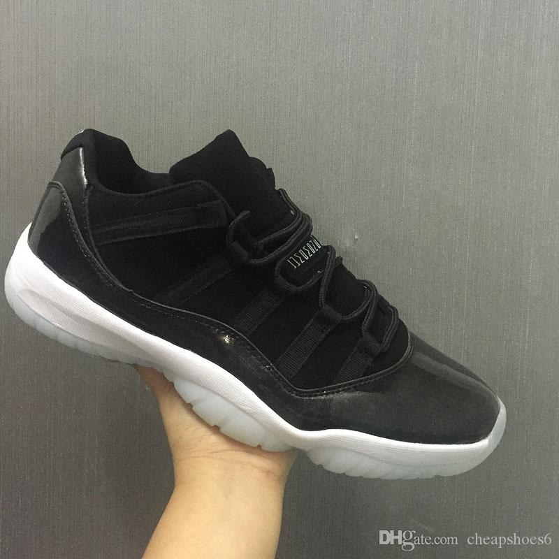 25db41e710e Kids Big Boy Shoes 11s Low Barons 11S Black Basketball Shoes Out Door  Sports Sneakers For Size 36 47 Kids Stability Shoes Brookes Running Shoes  From ...