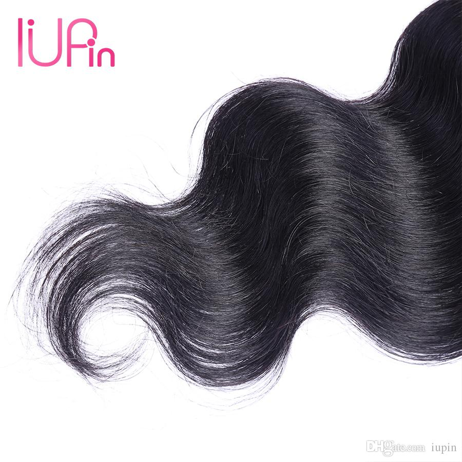 IUPin Company Indian Virgin Hair Body Wave Closure Raw Indian Body Wave Hair Lace Closure Wet And Wavy Human Hair Extensions