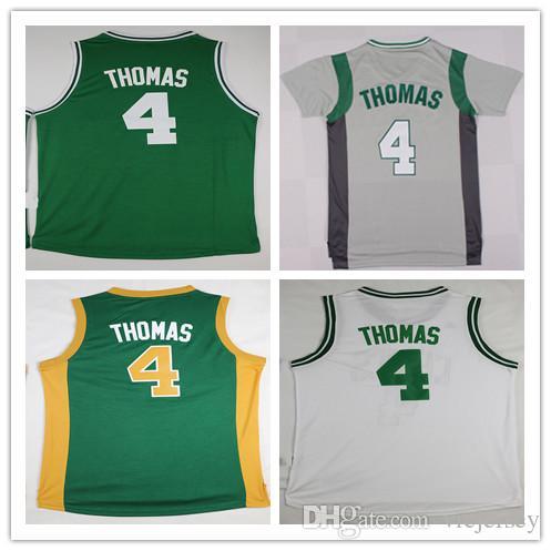 ffe35c4f878e ... 2017 Cheap Mens 4 Isaiah Thomas Jersey Uniform Shirt Team Green White  Stitched Isaiah Thomas Basketball ...