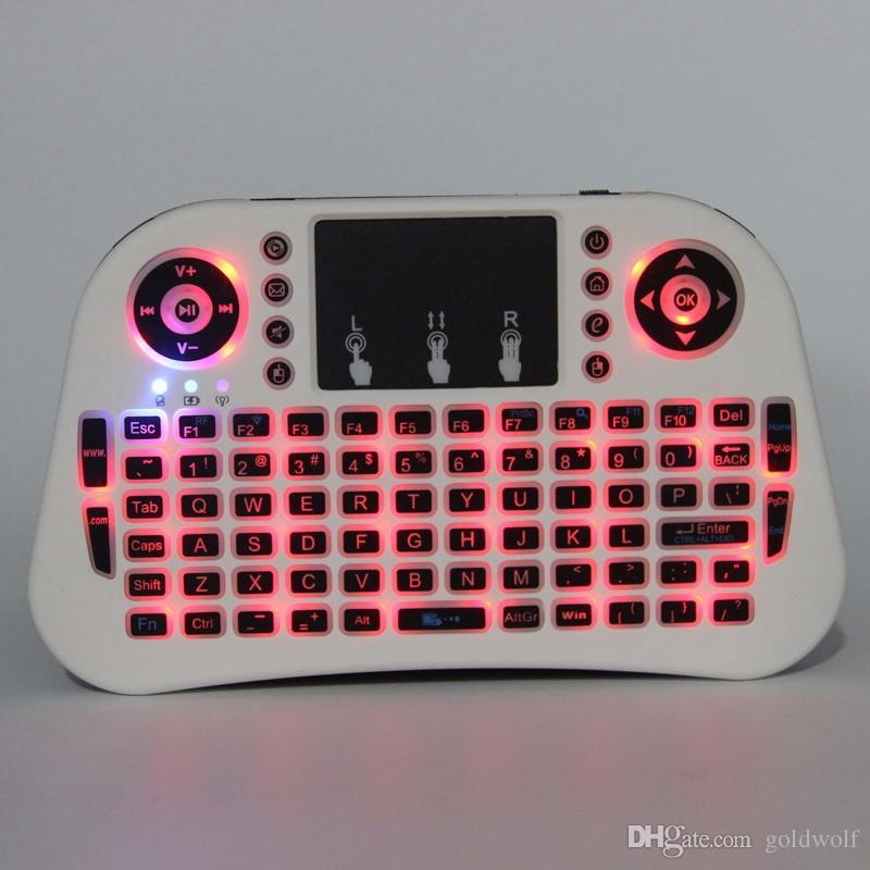 i10 Mini tastiera wireless con telecomando Fly Air Mouse Smart TV Telecomando Android TV Box A95X IPTV Mini PC Xbox VS i8 01