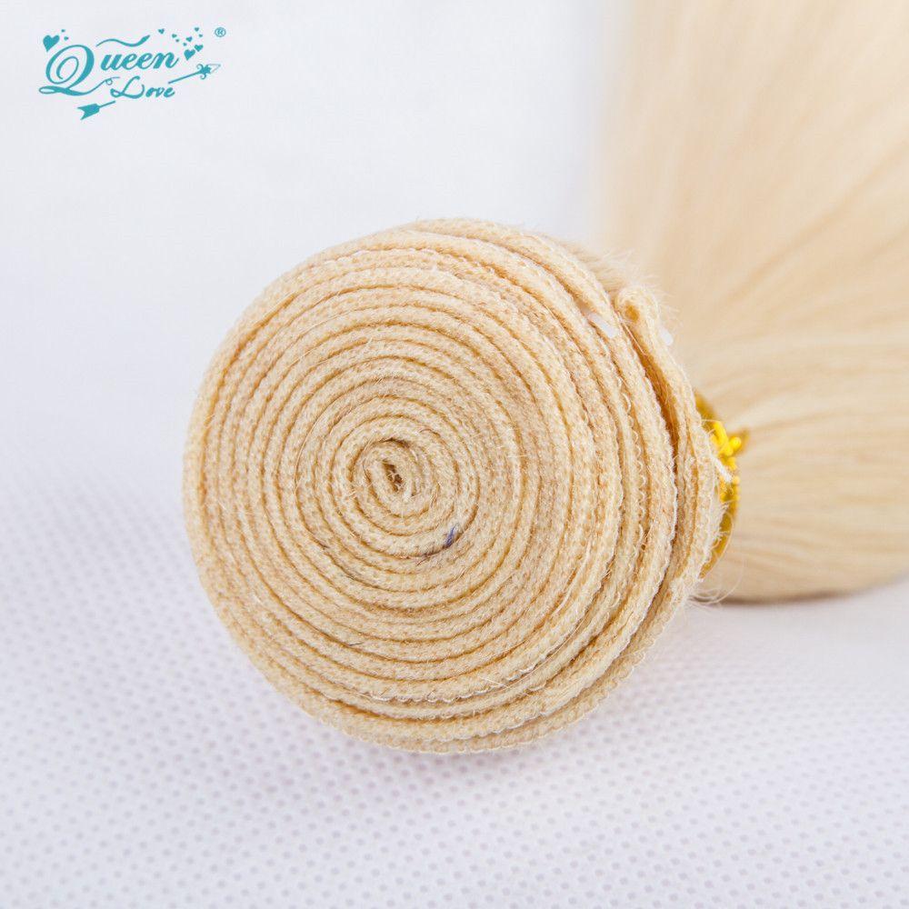 7A Quality 613 Honey Blonde Virgin Hair straight Malaysian Straight Unprocessed human hair extension 7A cheap Malaysian Hair Weave