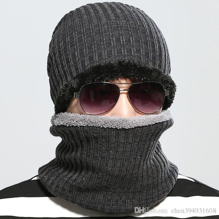 2019 2016 Hot Sales Fashion Hat Winter Hat For Man Skullies Beanies Solid Knitted  Hat Warm Cap Men Beanies Cap Elastic From Chen394931608 9475ce6d494a