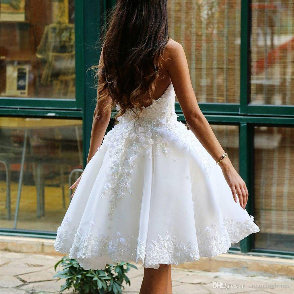 Petal Power Homecoming Dresses Sweetheart keen Length Ball Gowns Formal Dresses Backless Zipper White Dresses For Gowns